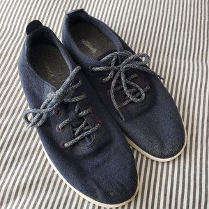 ALLBIRDS Navy Wool Runners